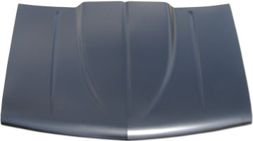 88 - 98 Chev and GMC Full Size Truck Pro Efx Steel Cowl Induction Hood With  A Teardrop Cowl